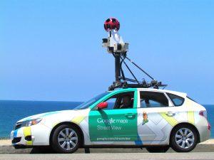 Google Maps Street View Car (photo credit: Suzy Brooks via Unsplash)