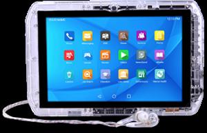 JPay 現有最新款的平板電腦 JP6。(來源:JPay )